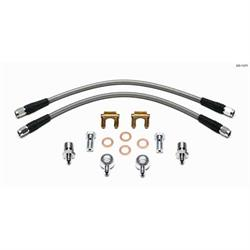 Wilwood 220-11371 Flexline Brake Line Kit, D52 Caliper w/Banjo, 14 In.