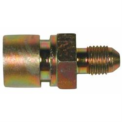 Wilwood 220-6457 Brake Line Fitting Adaptor, -3 AN to 7/16-24, I.F.