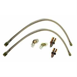 Wilwood 220-6471 Flexline Front Brake Line Kit, 86-93 Mustang, FDL/SL6