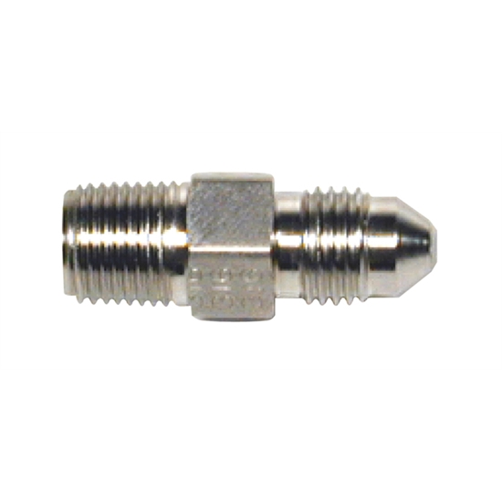 Wilwood 220-6956 Inlet Fitting AN# 3 to 1/8-27 NPT