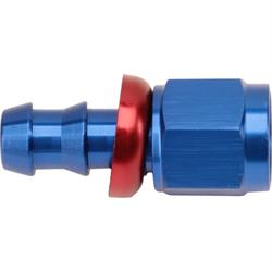 Wilwood 220-7534 Alum Straight Master Cylinder Fitting, -6 AN to 3/8