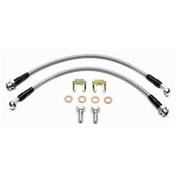 Wilwood 220-8516 Flexline Front Brake Line Kit, 1988-96 Corvette