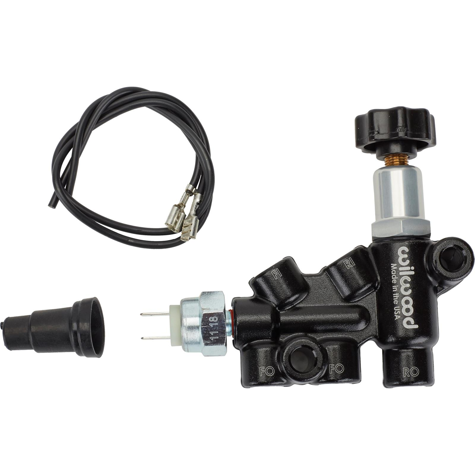 Wilwood Brake Proportioning Valve Knob Adjust 3//8-24 IF Combo Switch 260-11179