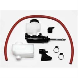 Wilwood 260-12387 Short Remote Side Mount Master Cylinder Kit, 7/8 In.
