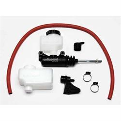 Wilwood 260-12389 Short Remote Side Mount Master Cylinder Kit, 1-1/8