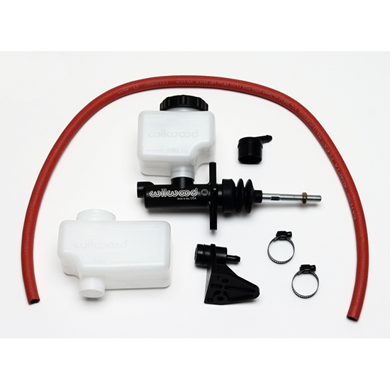 "Wilwood 260-13622 Remote Flange Mount Master Cylinder Kit, 1""Bore"