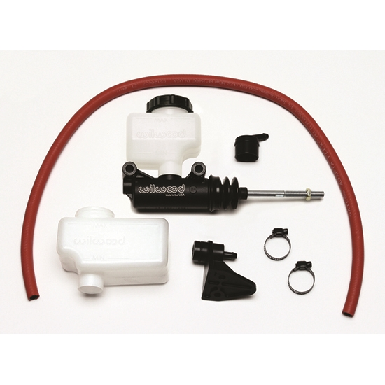 "Wilwood 260-13624 Remote Side Mount Master Cylinder Kit, 7/8""Bore"