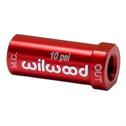 Wilwood 260-13707 Drum Brake 10 PSI Residual Pressure Valve, Red