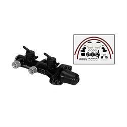 Wilwood 260-14244-BK Remote Tandem Master Cylinder, Black