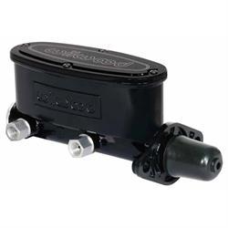 Wilwood 260-8556-BK H/V Tandem Master Cylinder, 1-1/8 Inch Bore, Black