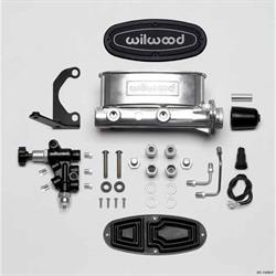 Wilwood 261-13269-P High Volume Tandem Master Cylinder Kit, 1 In. Bore