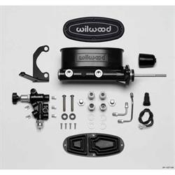 Wilwood 261-13271-BK H/V Tandem Master Cylinder Kit, 7/8 Inch Bore