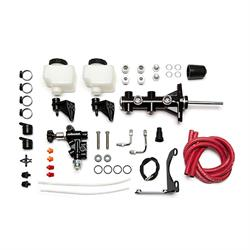 Wilwood 261-14249-BK Remote Tandem Master Cylinder Kit, 7/8 In, Black