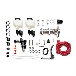 Wilwood 261-14251-P Remote Tandem Master Cylinder Kit, 1 Inch