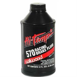 Wilwood 290-2210 570 Brake Fluid, 6 Pack 12 oz Bottles