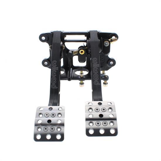 Wilwood 340-11299 Brake Clutch Pedals Aluminum Black Reverse Mount Universal Ea