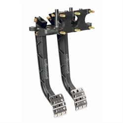 Wilwood 340-11299 Adjustable Dual Pedal, Rev. Swing Mount - 6.25:1