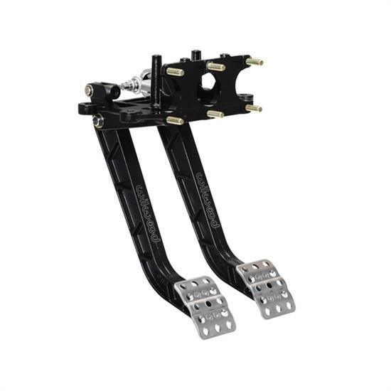 Wilwood Tru-Bar 340-15074 Reverse Mount Pedal Assembly, Black