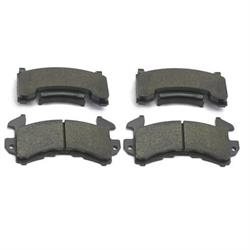 Wilwood 15E-6103K D154 PolyMatrix E Brake Pad Set, GM Metric