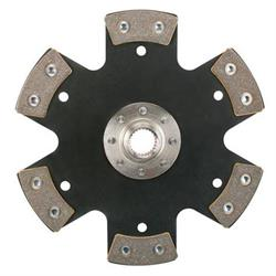 Speedway 10-1/2 In Metallic Clutch Disc, Solid Hub, 1-5/32In 26-Spline