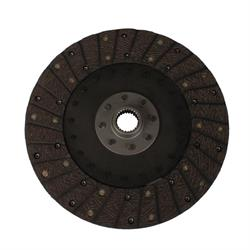Speedway 10-1/2 In Organic Clutch Disc, Solid Hub, 1-5/32 In 26-Spline