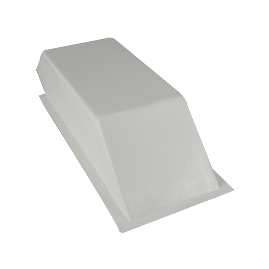 Tunnel Ram III Drag Racing Car Fiberglass Hood Scoop, 31 x 13 x 7