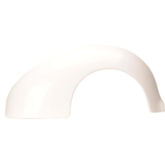 1938-40 Ford Fiberglass Rear Fenders, 3-1/2 Inches Wider