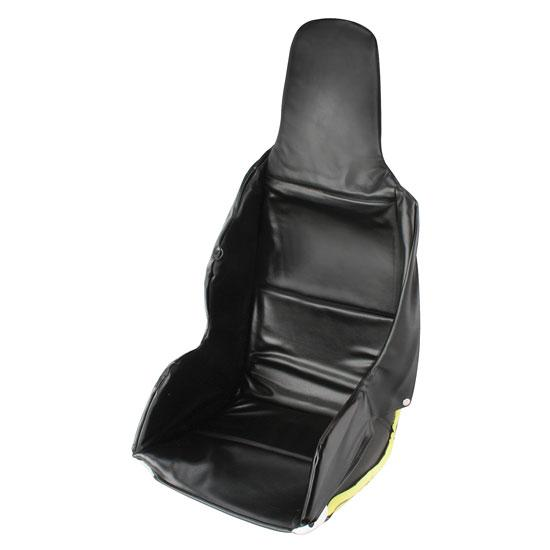Black Vinyl Upholstery for Kevlar High Back Seat