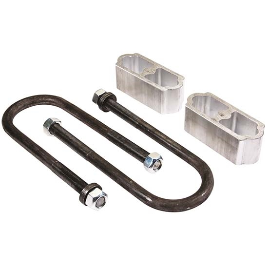 2 Inch Universal Leaf Spring Lowering Block Kit