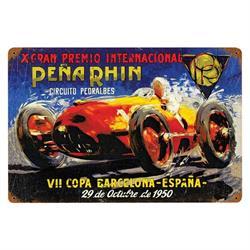 Pena Rhin Vintage Tin Sign