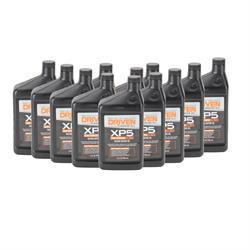 Driven Racing Oil 00907 XP5 Synthetic Blend 20W50 Motor Oil, 12 Quarts