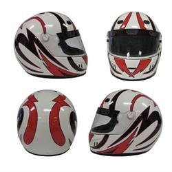 Speedway Changeable Helmet Graphics, Drift