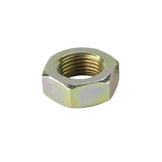 Plain Steel Lot of 10 9//16-18 Hex Jam Nuts
