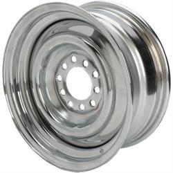 Speedway Smoothie 14x6 Steel Wheels, 5 on 4.5/4.75, 3.75 BS