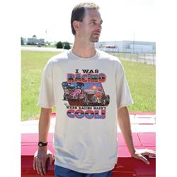 When Racing Wasn't Cool Retro T-Shirt, Natural, XXXL