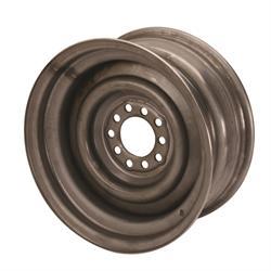 Speedway Smoothie 15x7 Steel Wheels, 5 on 4.5/4.75, 4.0 BS