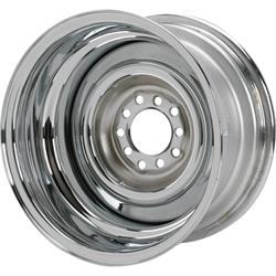 Speedway Smoothie Reverse 15x8 Steel Wheels, 5 on 4.5/4.75, 2.5 BS