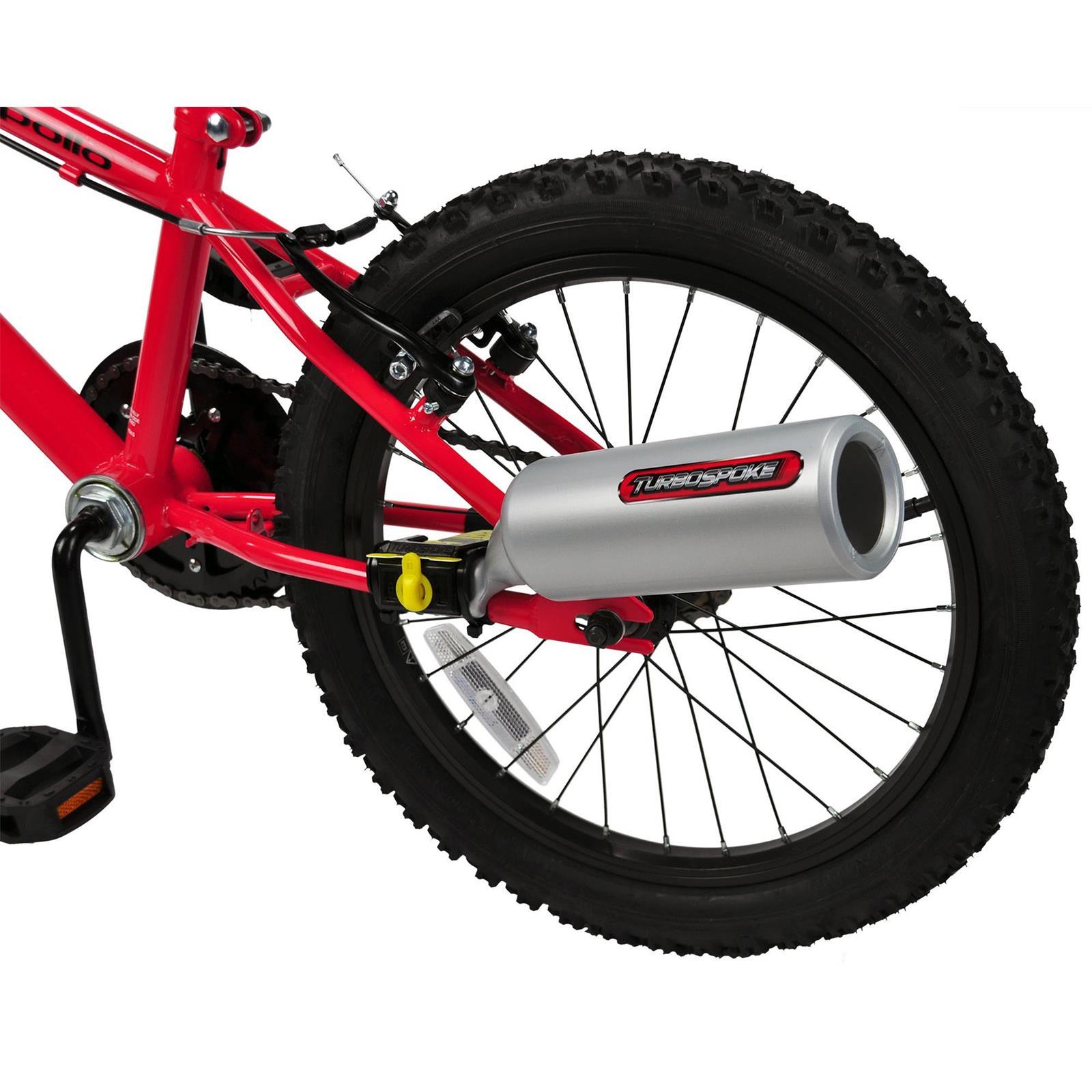 Turbospoke Bicycle Bike Muffler Exhaust Noise Maker