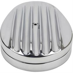 Speedway Finned Teardrop Air Cleaner with Internal Element
