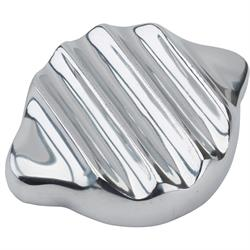 Speedway Finned Aluminum Radiator Cap Cover, 2-3/4 Inch ID