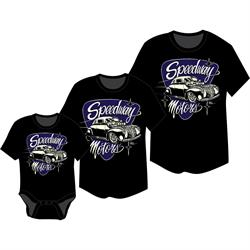 SpeedwayMcPhail 40 Coupe Youth T-Shirt