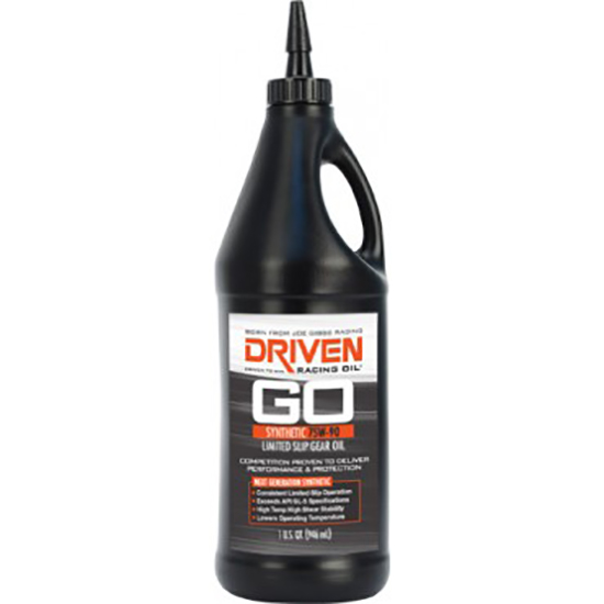 Driven Racing Oil 04230 Limited Slip Gear Oil 75W90, 1 Quart