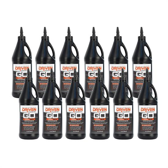 Driven Racing Oil 04231 Limited Slip Gear Oil 75W90, 12 Quarts