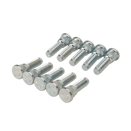 Dorman 610-184.1 0.565 Knurl x 1-9//32 Length x 1//2-20 Thread Size Serrated Wheel Stud