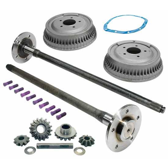 1963 64 Chevy Truck 5 Lug Rear Axle Conversion Kit
