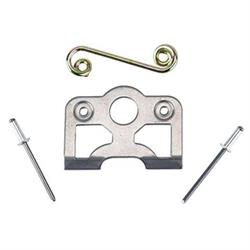 Quarter Turn Fastener Spring Plate, Flat Spring and Rivet Sets Pack/10