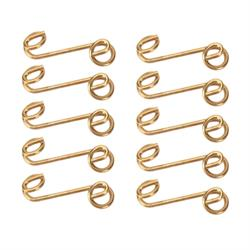 Quarter-Turn Stepped Fastener Springs, 1-3/8, Set of 10