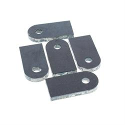 Weld-On Chassis Tabs, 2-1/2 Inch with 3/8 Hole