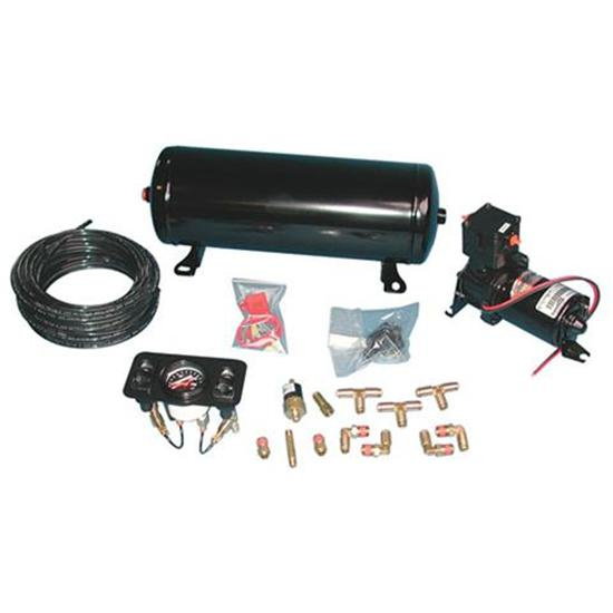 RideTech 30141001 Standard Air Ride Suspension 4 Wheel Compressor Kit