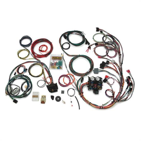 Painless Wiring 10111 23 Circuit Wire Harness for 1987-91 YJ Jeep